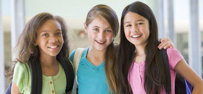 Preadolescencia en niñas