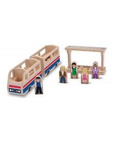 tren plataforma madera